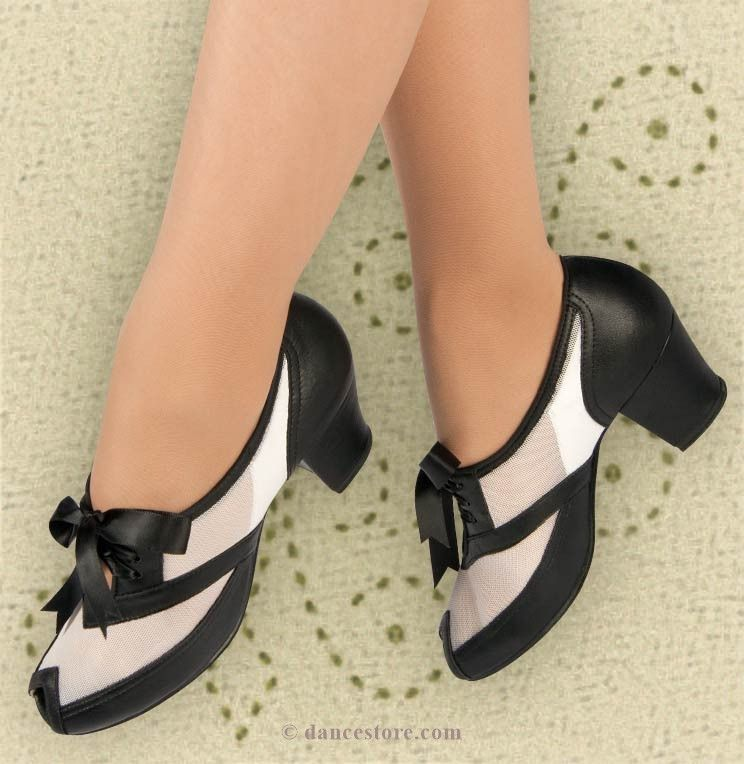 Black Oxford Mesh Peep Shoes Dance Allen Swing Aris 1940s Limited 2 and Sizes Toe White 8nwfq5UqB