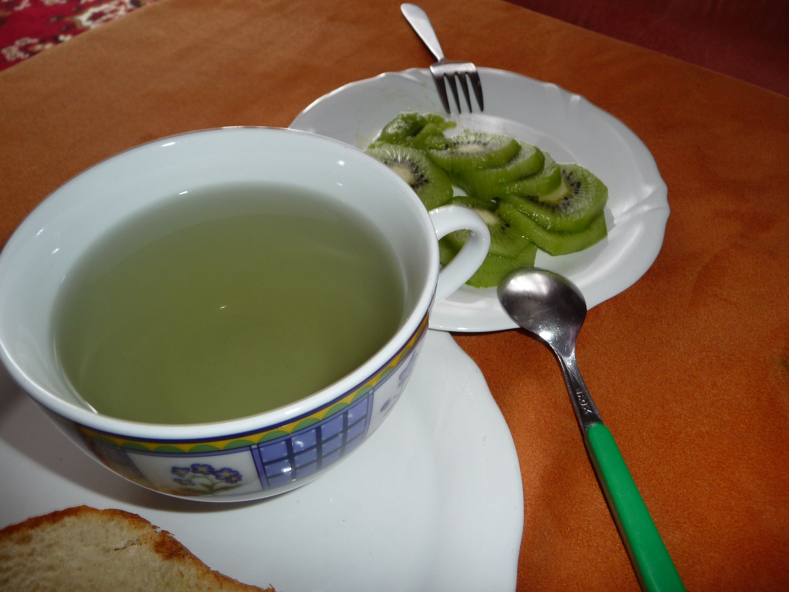Sunday Morning Ideas...My Green Breakfast ;-)