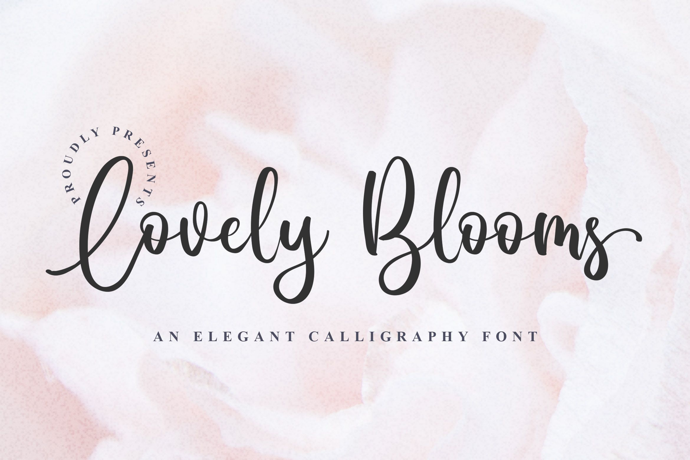 Download Lovely Blooms (Font) by Blankids Studio di 2020