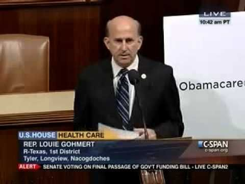 Rep. Gohmert Shares East Texans Obamacare Stories