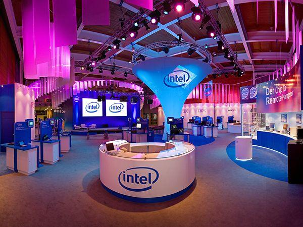 Intel Pavilion, CeBit, Hannover