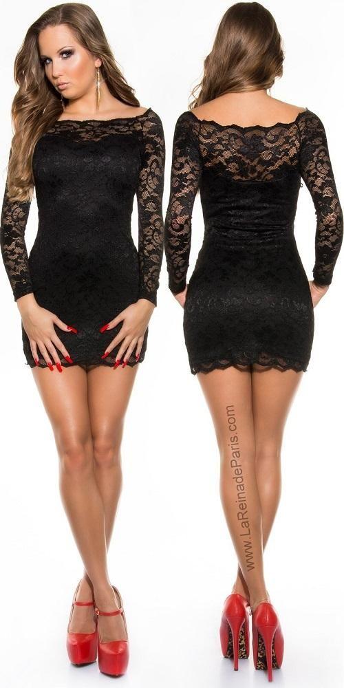 81616dcaff58b vestidos elegantes para dama cortos negro - Buscar con Google ...