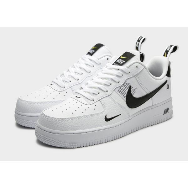 Nike Air Force 1 Mid 07 Lv8 White Black Moda Nike Moda Sneakers Tenis Nike Air