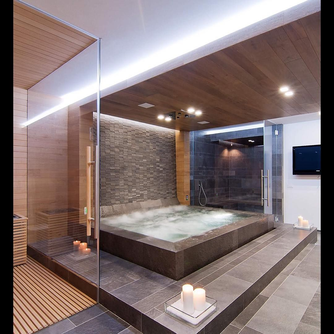 Rodeo 5th On Instagram Custom Home Spa Bathroom Rodeoand5th Luxury Home Interior Rodeoand5thhomes Luxury Homes House Design Dream House