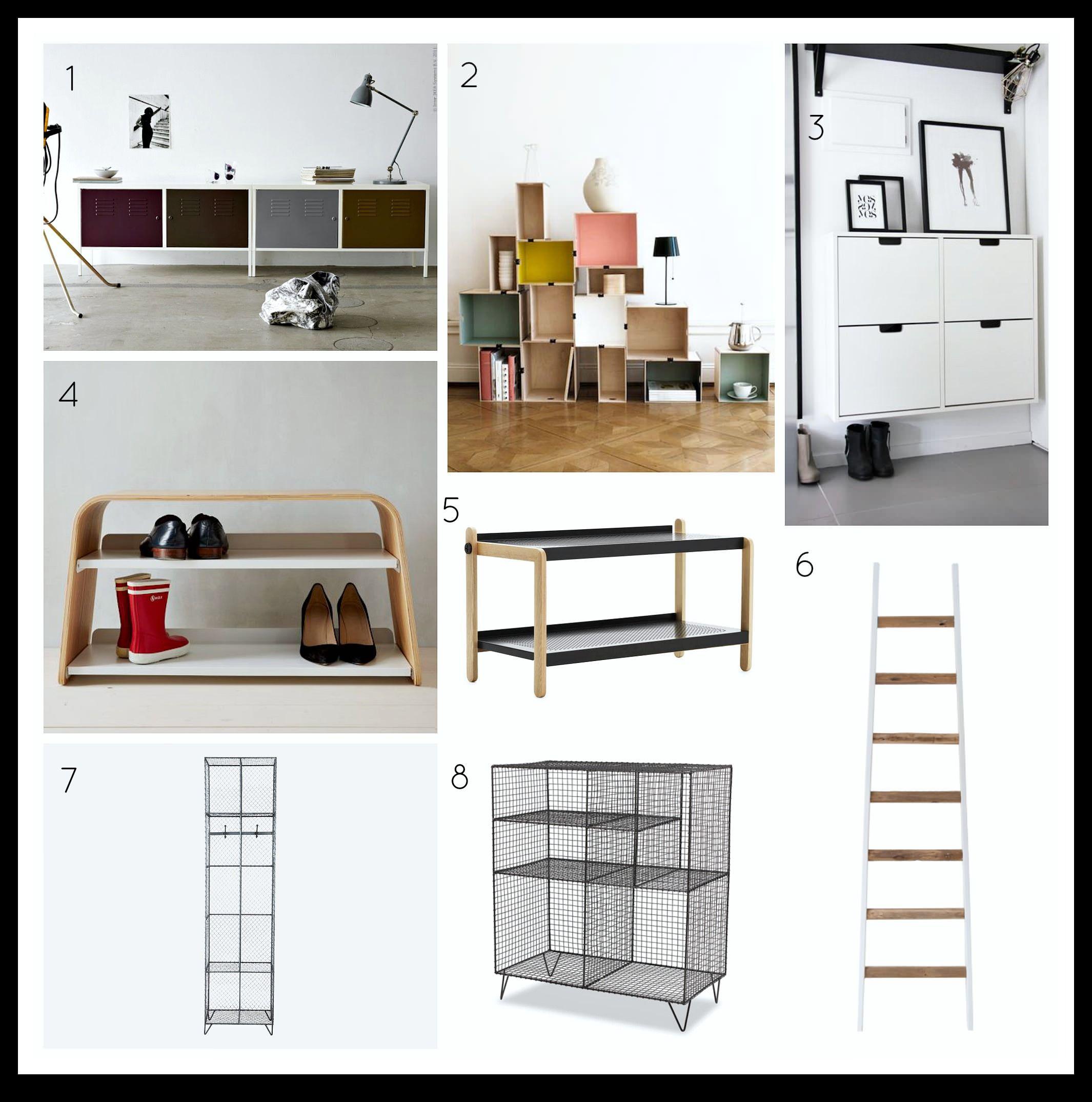 Hallway furniture shoe storage  ShoestorageoptionsonlittleBigBellg  Hall  Pinterest