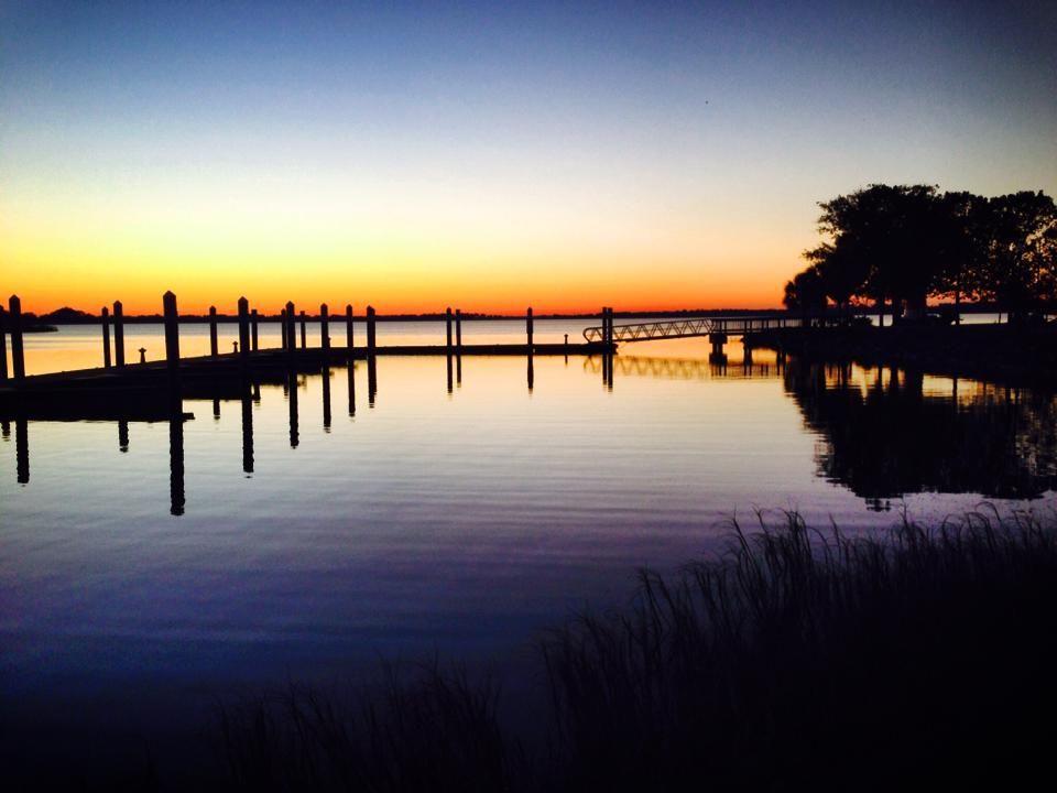 Mt Dora - sunset on the lake