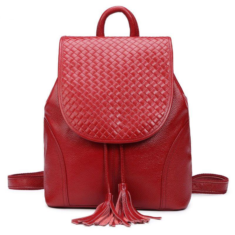 a6567af8a 2016 nuevo estilo mochila de cuero para mujeres tienda online de bolsos de  cuero auténtico [AS90034] - €56.43 : bzbolsos.com, comprar bolsos online