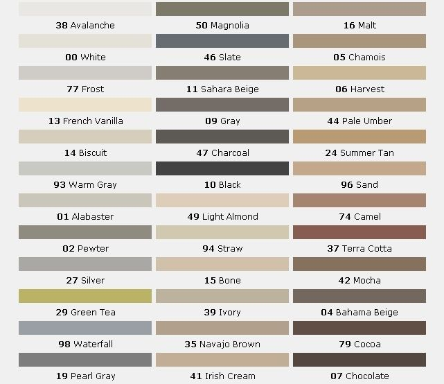 Mapei grout colour chart google search megan l in 2019 mapei