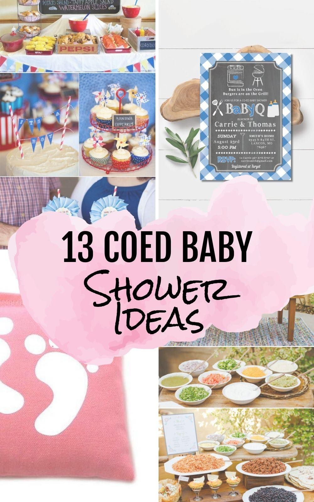 13 Summer Co Ed Baby Shower Ideas Coed Baby Shower Summer Baby Shower Baby Shower Games Coed