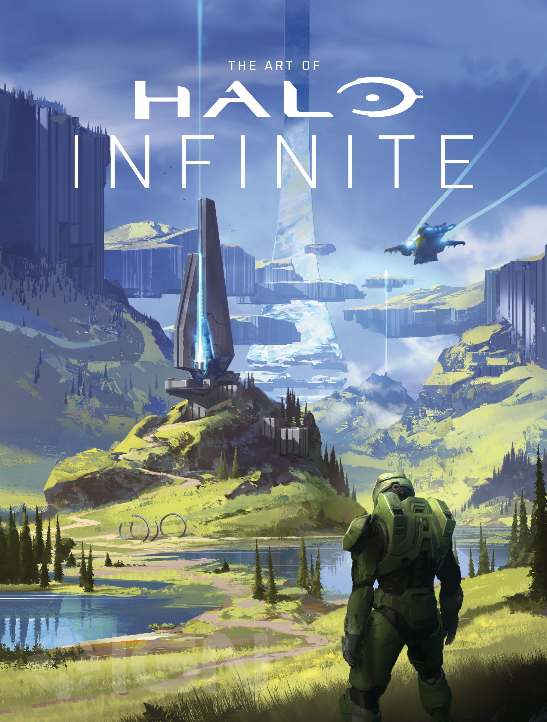 The Art Of Halo Infinite Exclusive Cover Reveal Ign In 2020 Dark Horse Halo Halo Spartan