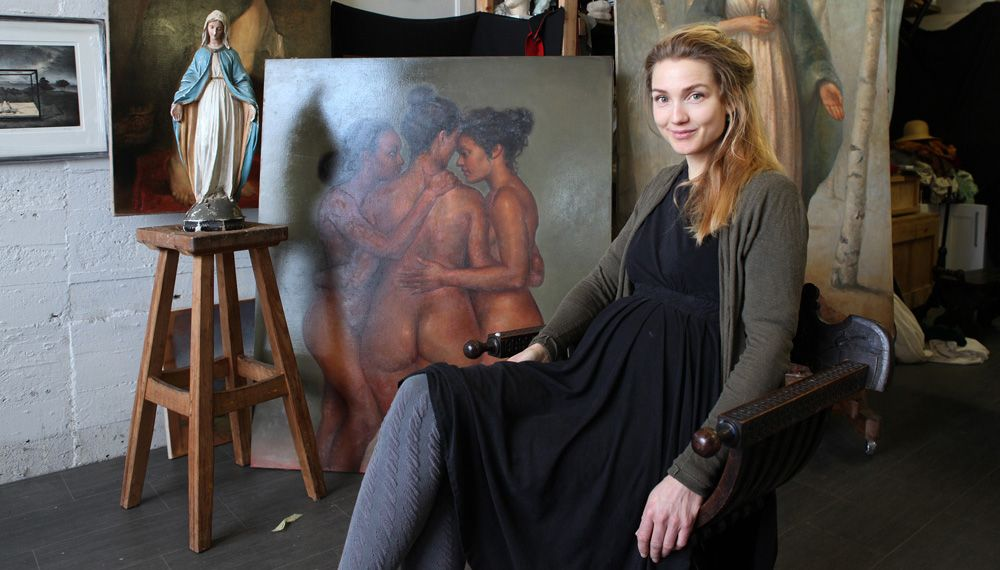 "Helene Knoop, the ""Kitsch-Painter"", and her city"