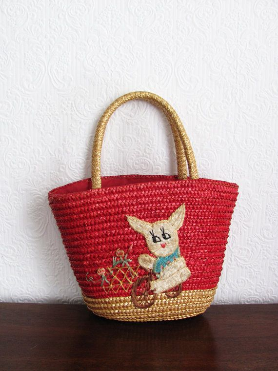 eb69f10040 Straw bag for shopping very similar to the one my grandma brought me back  off her holiday.
