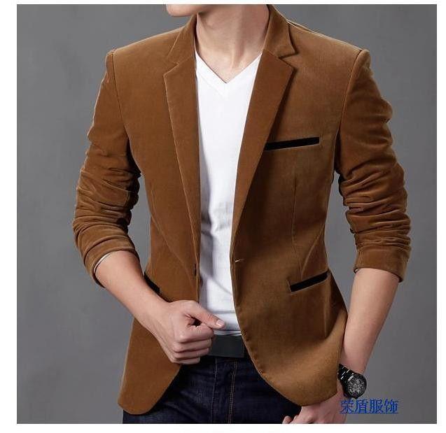 1f038bef3da0 Slim Corduroy Blazer | Products | Blazers for men, Casual blazer e ...