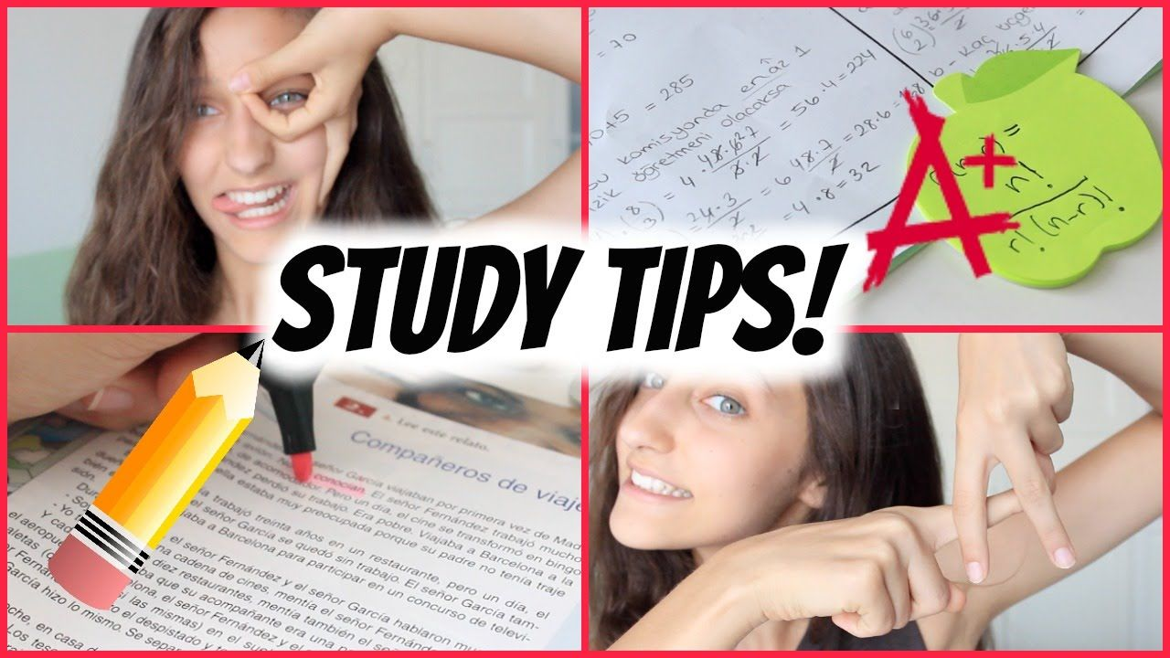 How To Get Straight A's! Study Tips ️ Study tips, Good