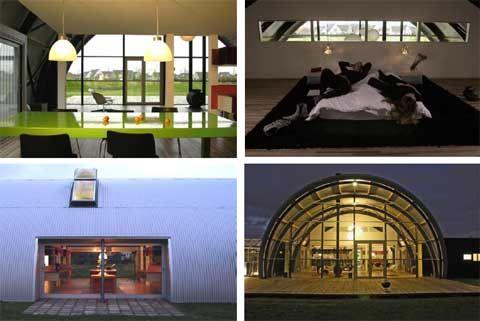 Prefab Home: Hangar House   Busyboo | Unique Houses + Buildings | Pinterest  | Prefab, House And Modern