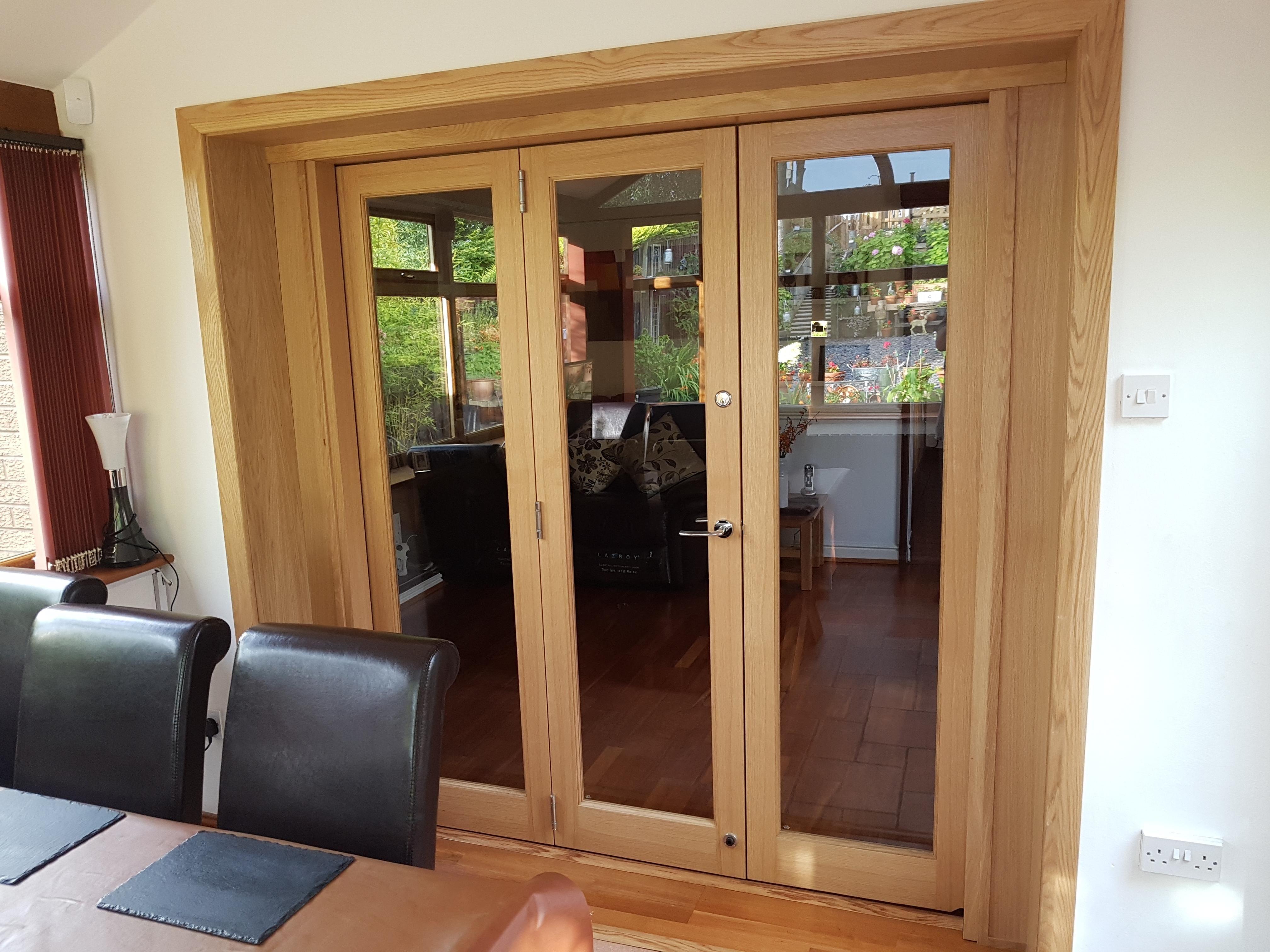 Inspire closed m internal room divider bifold doors customer