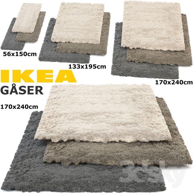 Models Carpets Ikea Gaser Goser Rug Set