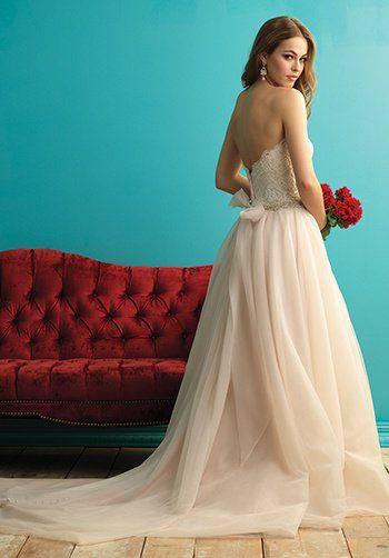 Allure Bridals 9269 Wedding Dress - The Knot | Xoxo | Pinterest ...
