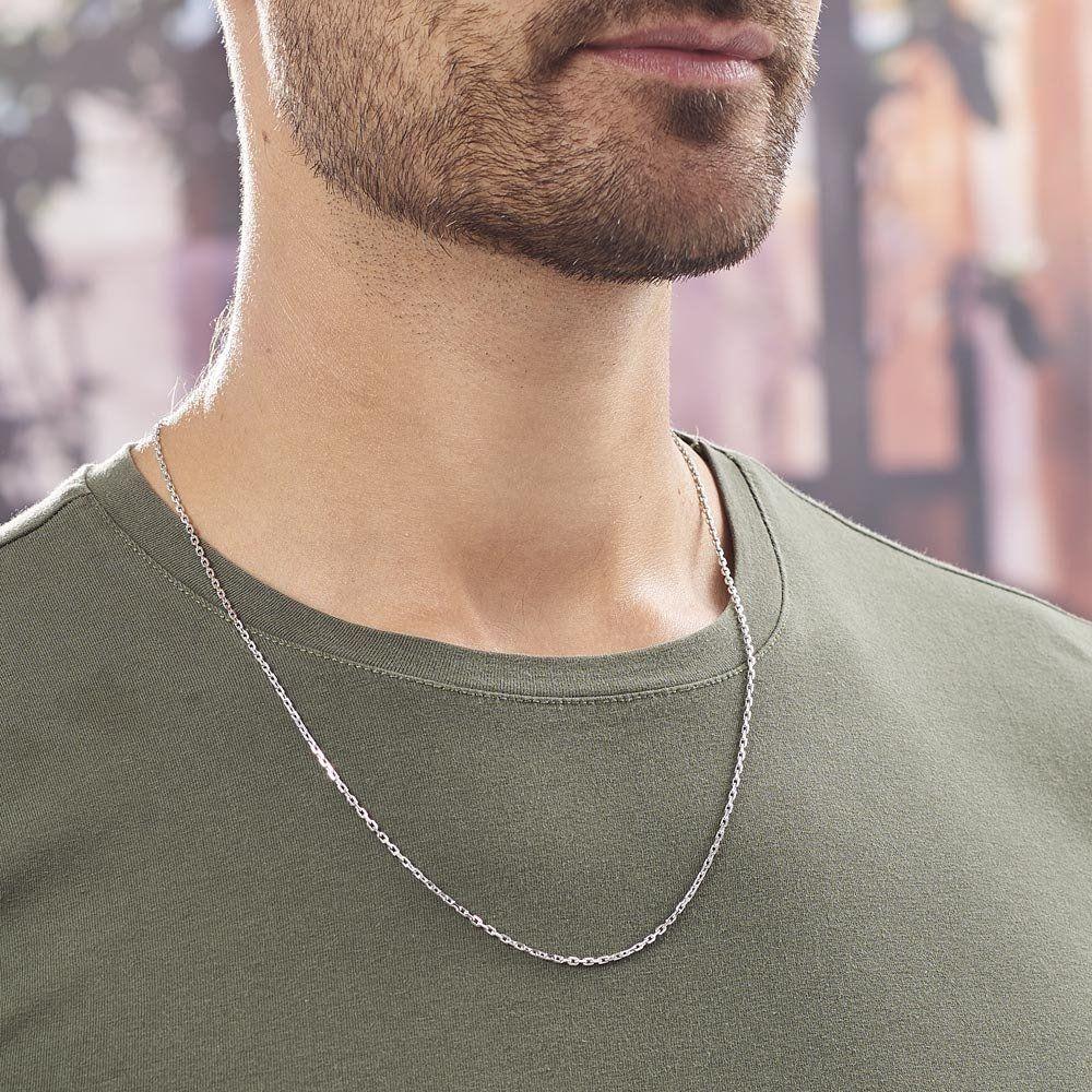 porter un collier homme