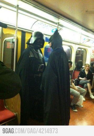 S**t just got real when Vader meets Batman