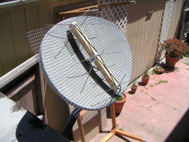 HDTv Antenna on a Direct TV Mount. | Survival, Shop organization ...