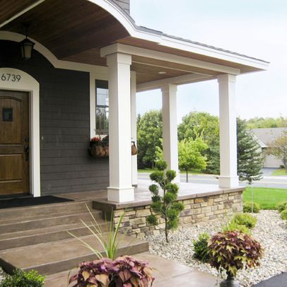 Concrete Stain What A Difference From The Standard Cement Look Cool Tips Amp Ideas