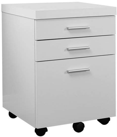 Upper Square Barnaton 3 Drawer Mobile Vertical Filing Cabinet