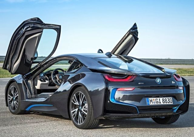 2015 BMW I8 Electric Sport Car