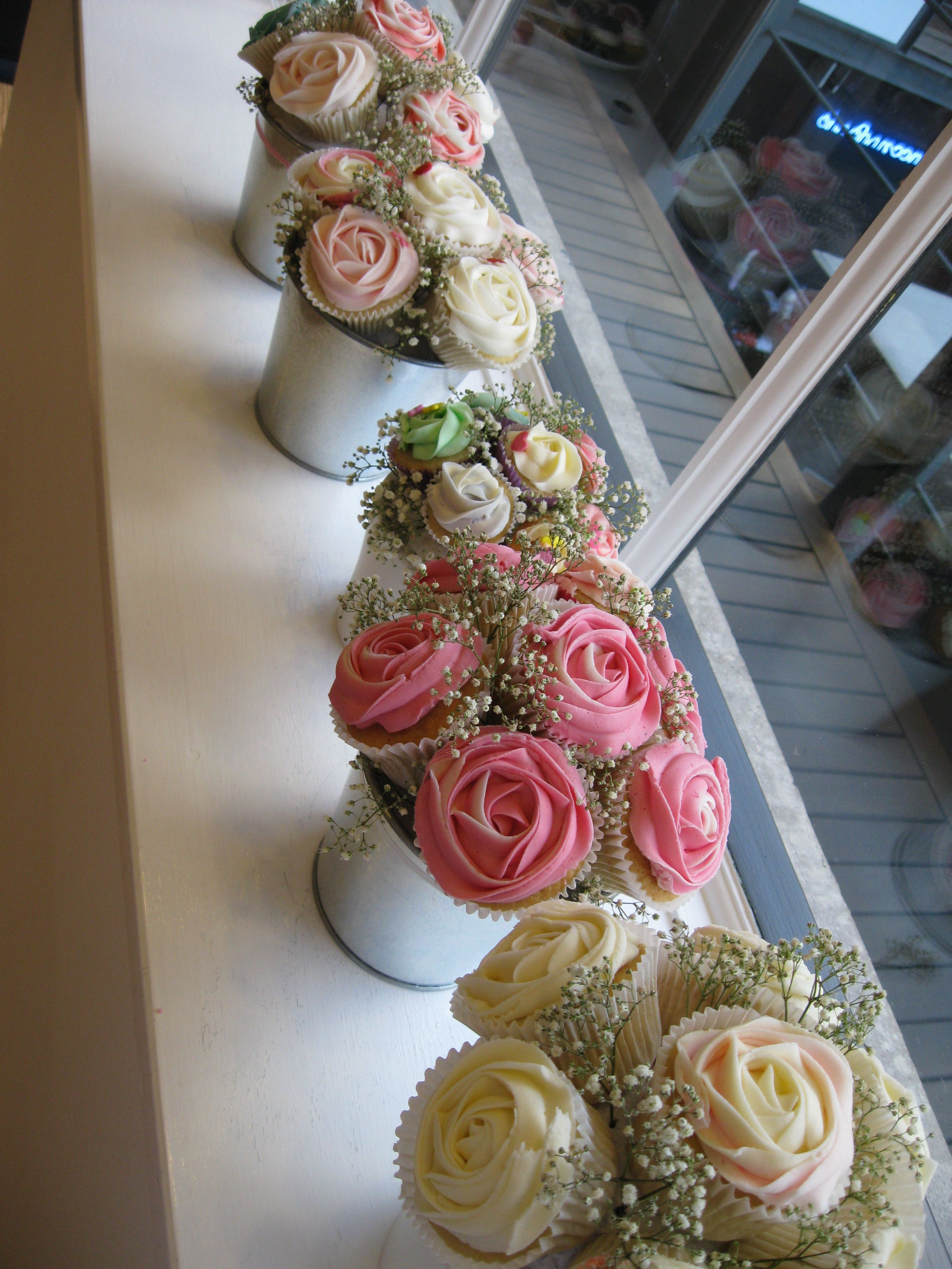 More Pretty Cupcake Bouquets At Mulberry Teacup Pretty Things