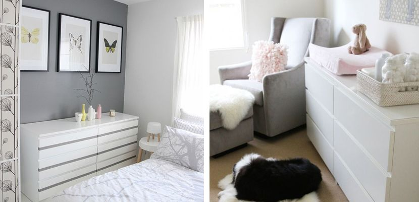 Ideas para usar la c moda malm de ikea house - Comodas dormitorio ikea ...