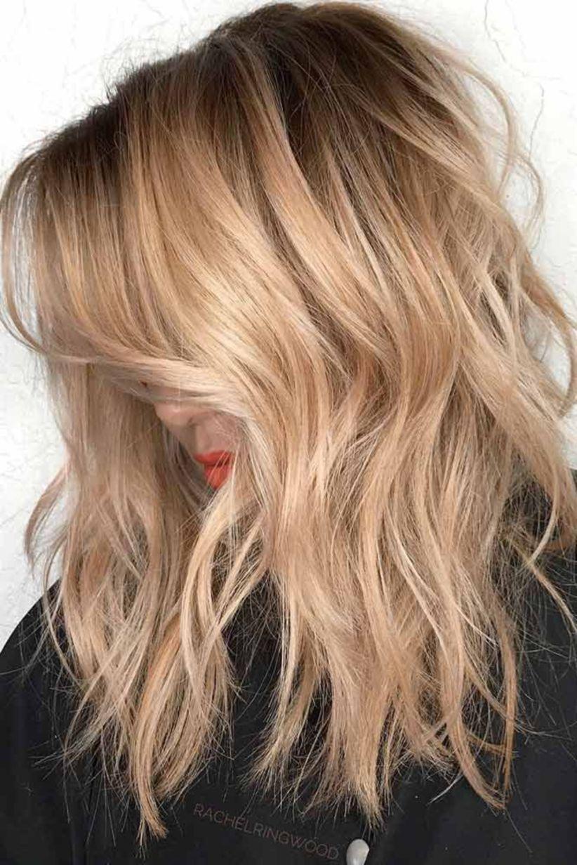 lovely medium length haircuts for fall hair ideas pinterest