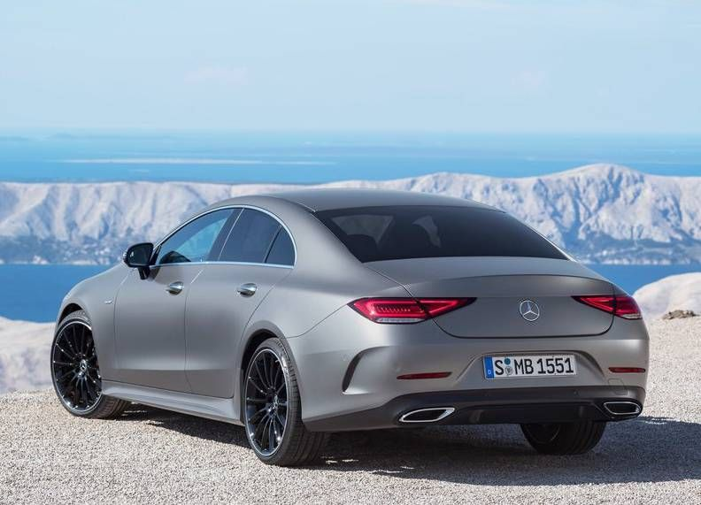 2019 Mercedes Benz Cls Review New 4 Door Luxury Coupe With
