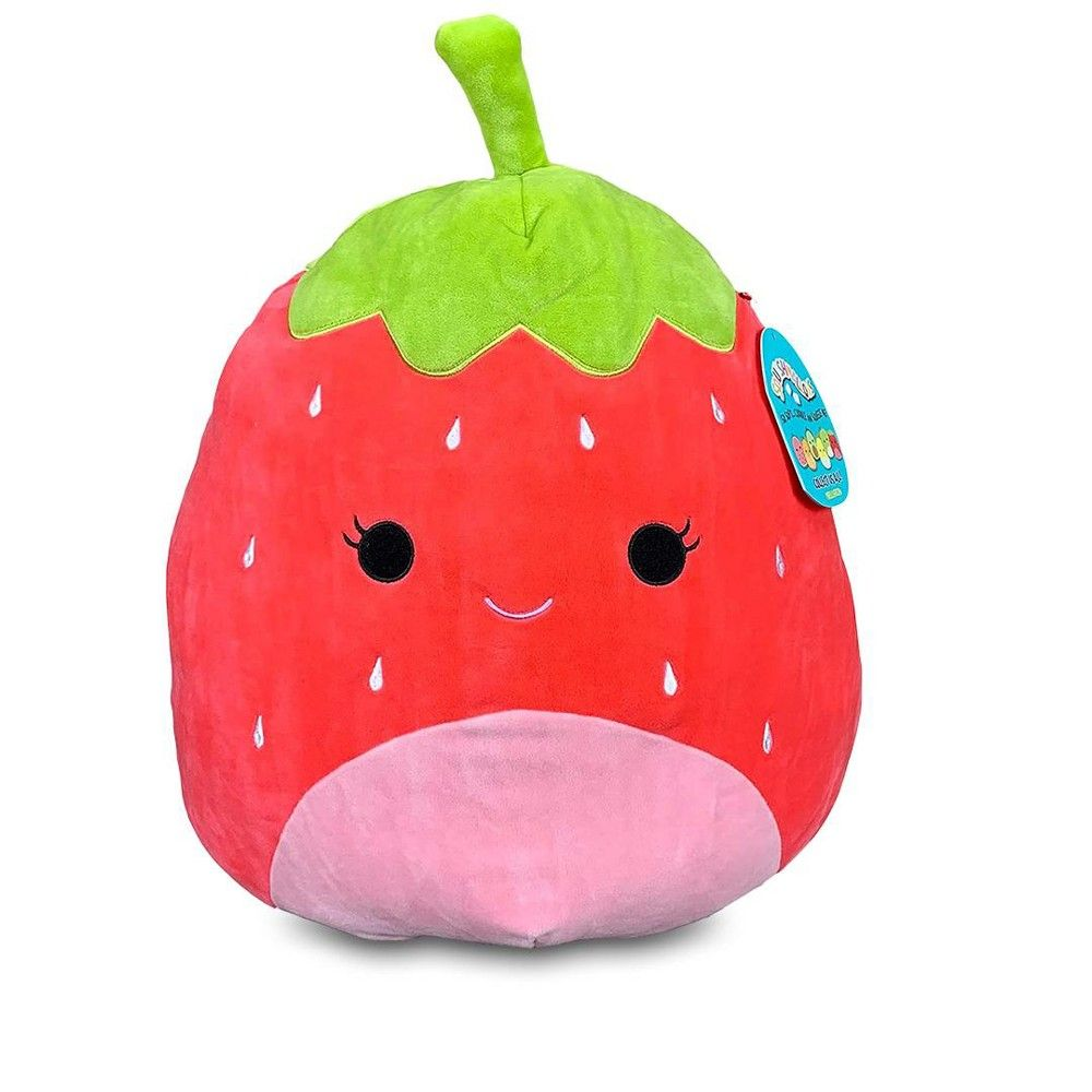 Squishmallows 12 Inch Plush Scarlet The Strawberry Baby Girl Toys Cute Stuffed Animals Plush