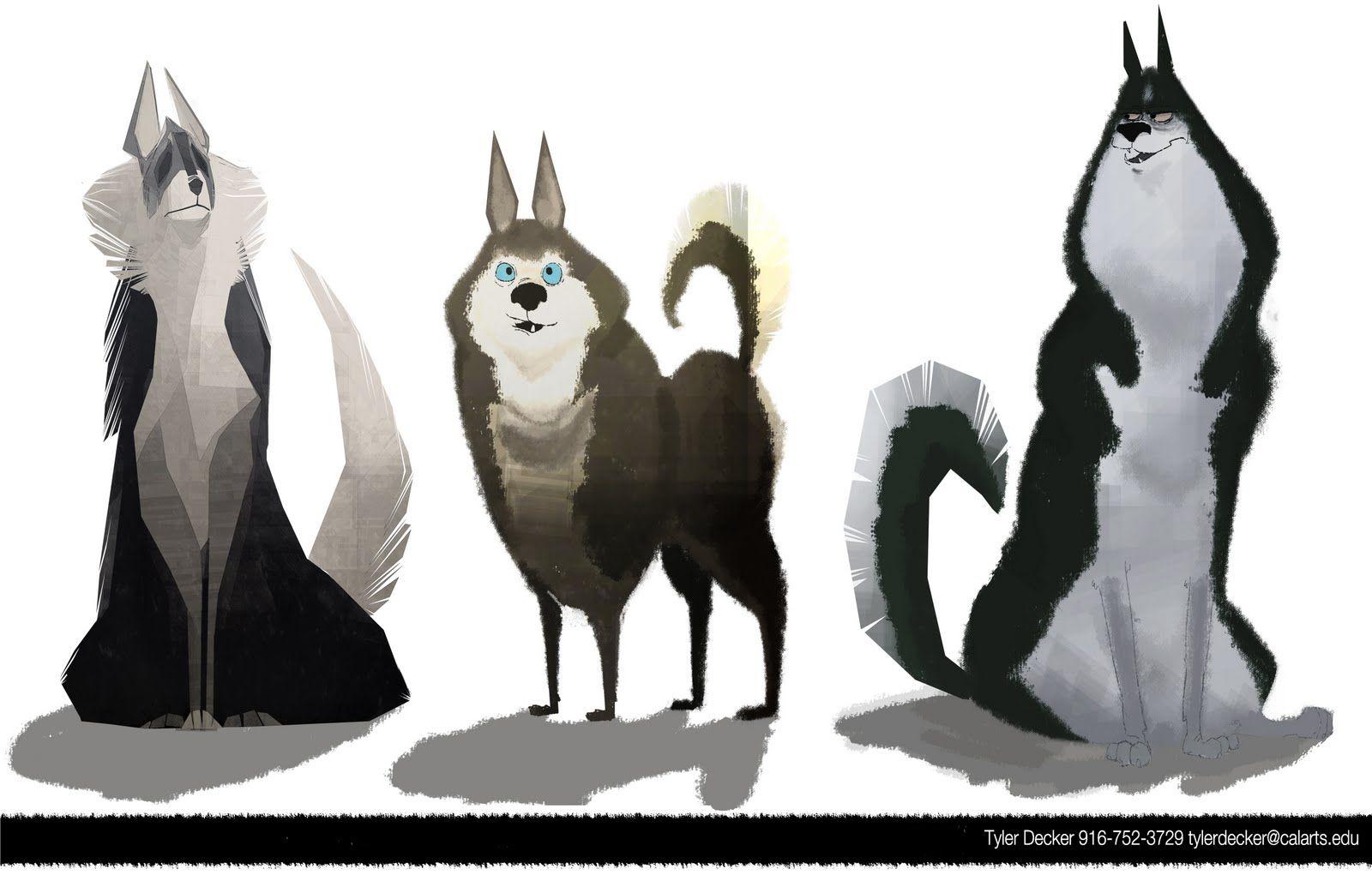 Animation Character Design Portfolio : Tyler decker portfolio character design visual