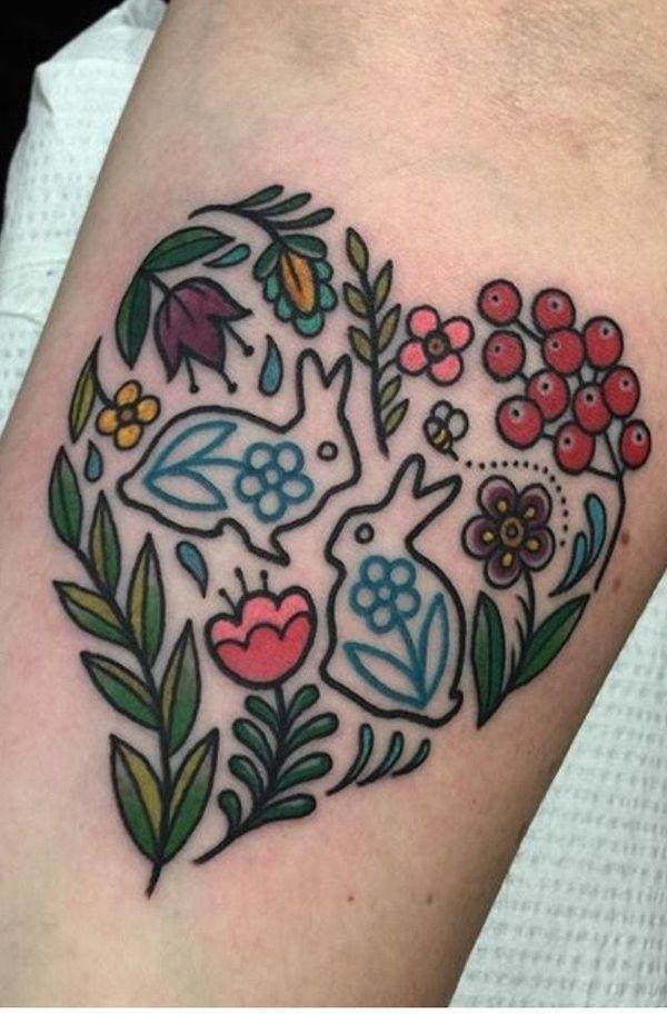 Из коллекции «Татуировки с кроликом»