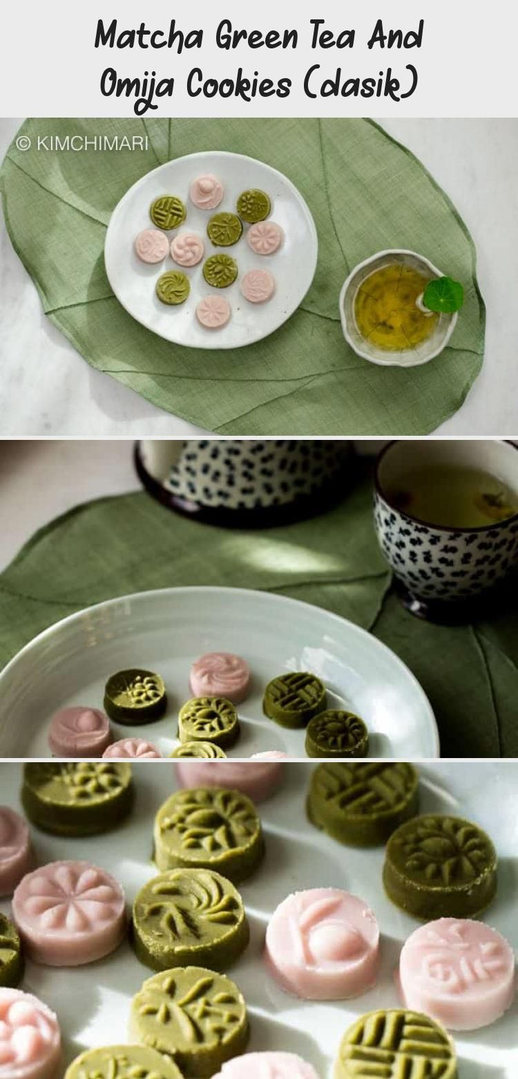 Photo of Matcha Green Tea And Omija Cookies (dasik) – My Recipes