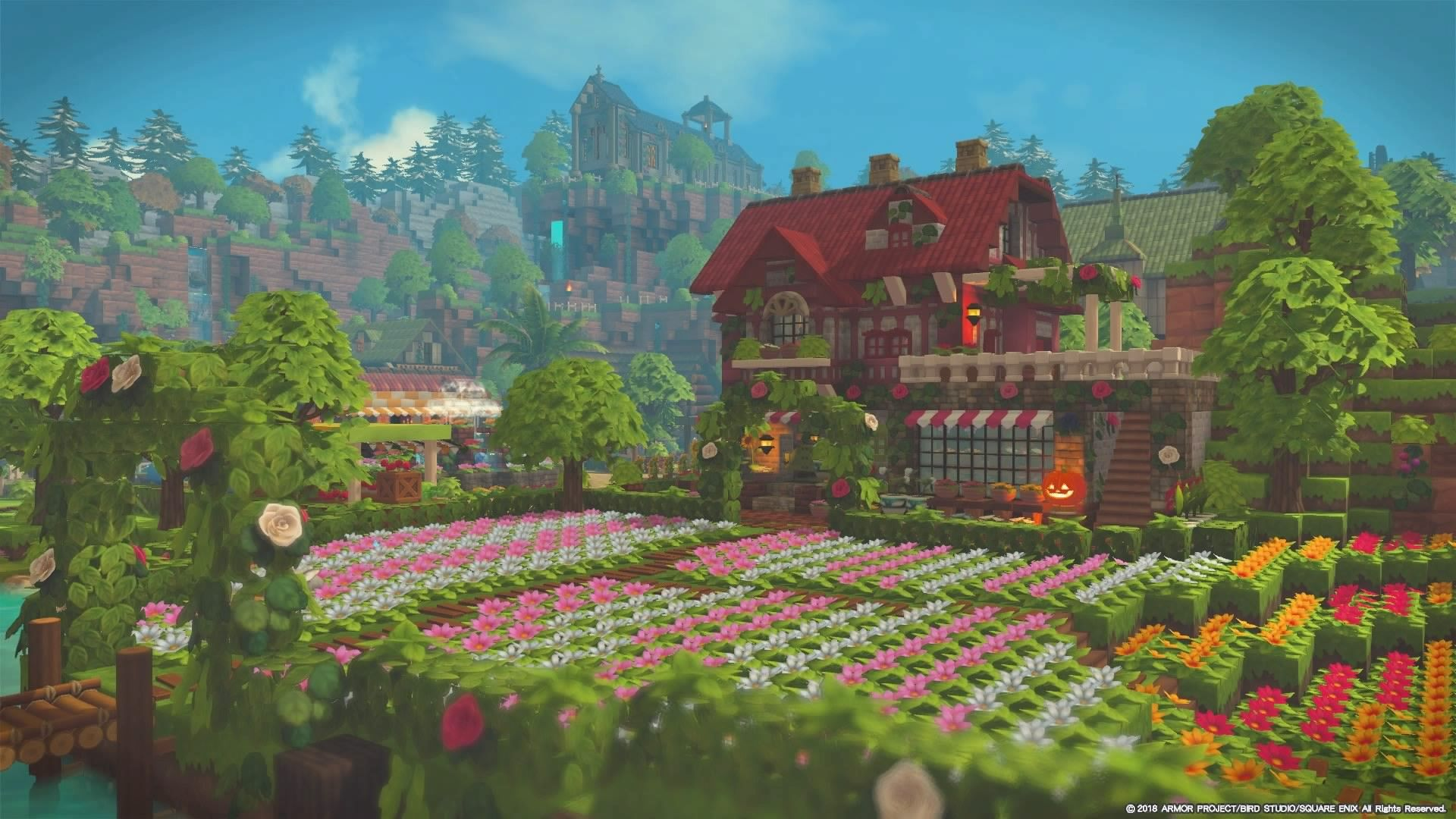 ビルダーズギャラリー ドラゴンクエストビルダーズ2 Square Enix マインクラフトの家 マインクラフトの建物 マインクラフト