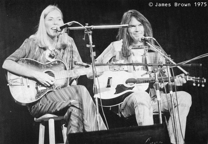 Joni Mitchell & Neil Young