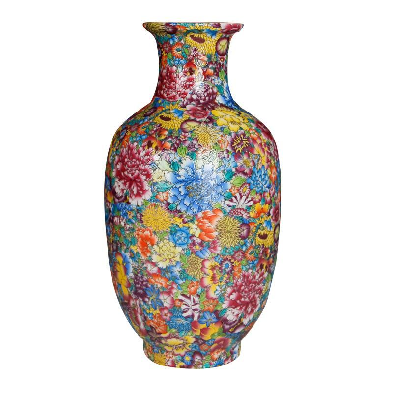 Photo of Luxury Rainbow Blossom Tabletop Flower Vase