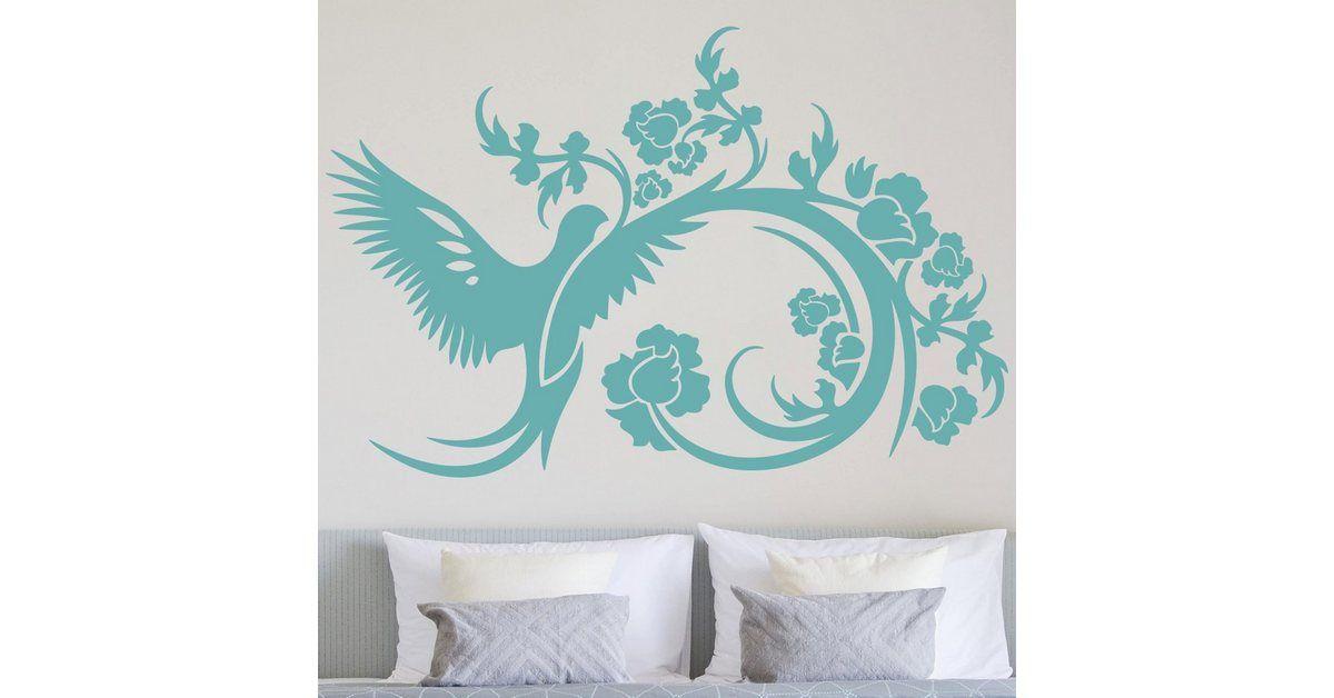 Wall tattoo »wing beat«