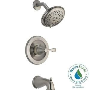 Delta Porter Single Handle 3 Spray Tub And Shower Faucet In Oil