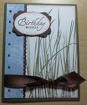 Masculine Birthday Card Ideas