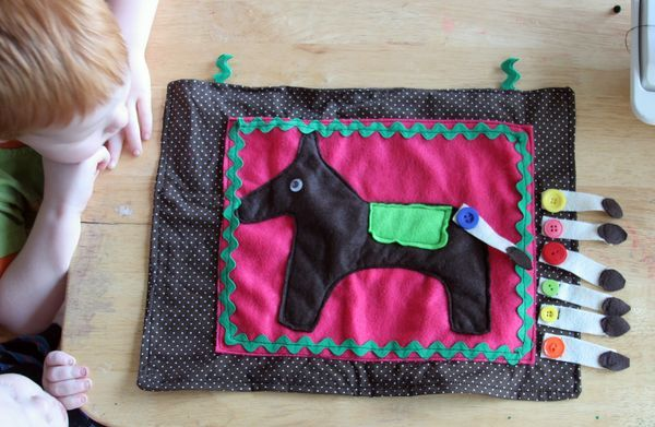 Make A Quilted Pin The Tail On Donkey Dollar