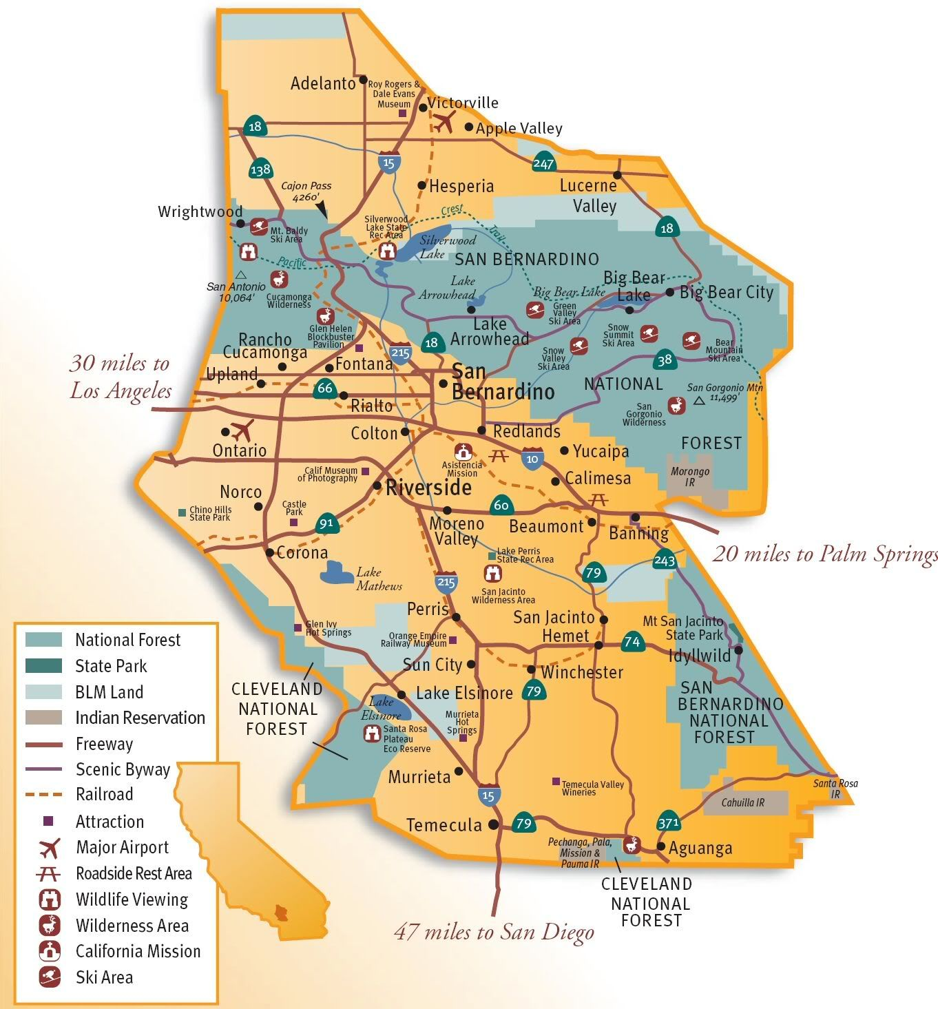inland empire map Google Search Warehousing in the IE