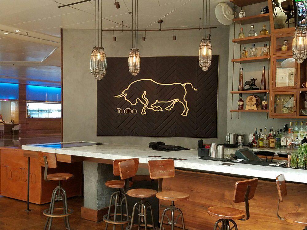 Toro Toro Restaurant Miami Fl United States Logo By The Bar Restaurant Home Decor Conference Room Table