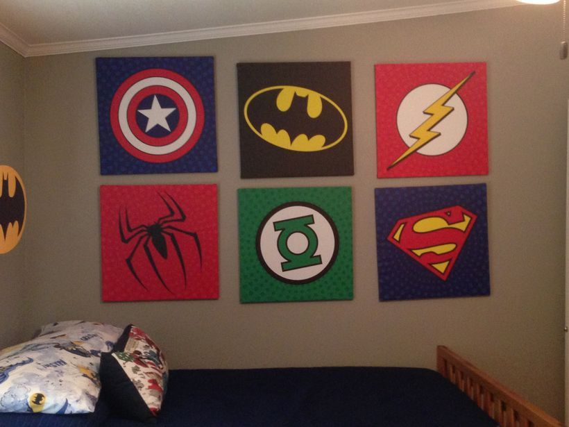 60 Cool Superhero Themed Room And Decoration Design Avengers