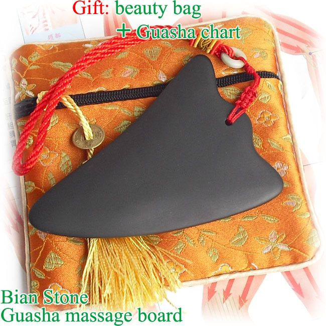 Find More Massage & Relaxation Information about Good quality! Traditional Acupuncture Massage Tool Bian stone Guasha beauty face Board gift bag&chart triangle shape 16pcs/lot,High Quality bag sleeve,China gift bags wholesale usa Suppliers, Cheap gift bag black from Tanly's store on Aliexpress.com
