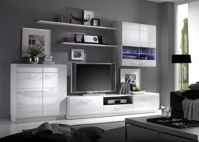 wohnwand cabana im preis nochmal reduziert sch nes design mit viel stauraum f r das. Black Bedroom Furniture Sets. Home Design Ideas