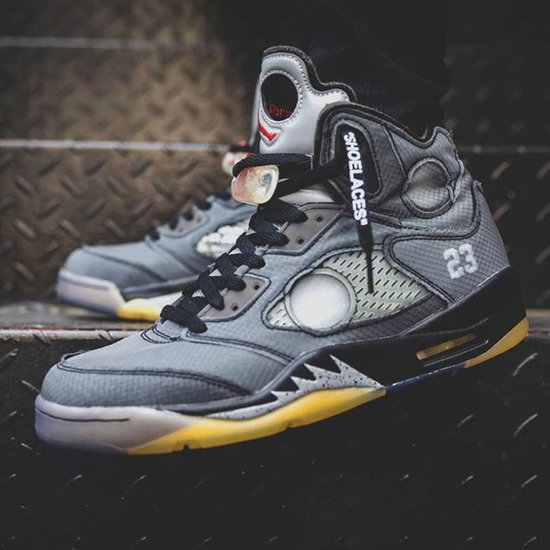 air jordan 5 off white dove comprare