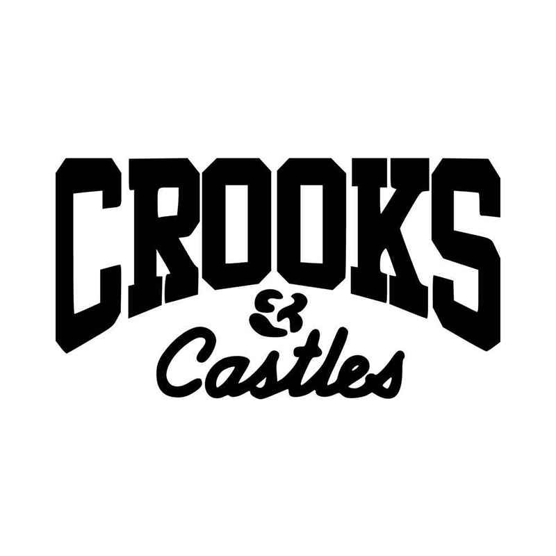 Crooks Castles Fashion Logo Vinyl Decal Sticker